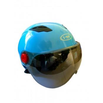 Шлем универсальный E-bike Helmet (Голубой)