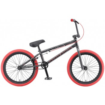 Велосипед BMX TT GRASSHOPPER красно-серый